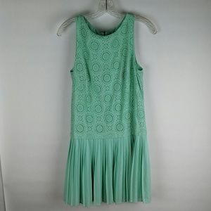 Light teal dress Ann Taylor loft size 8